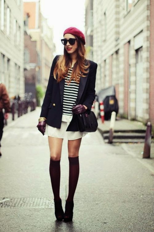Chic Parisian Chick? French people rarely wear bérets...