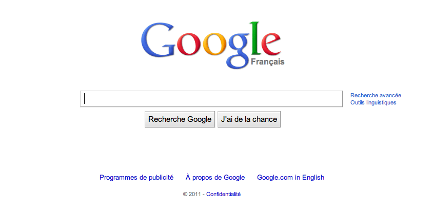 French Google