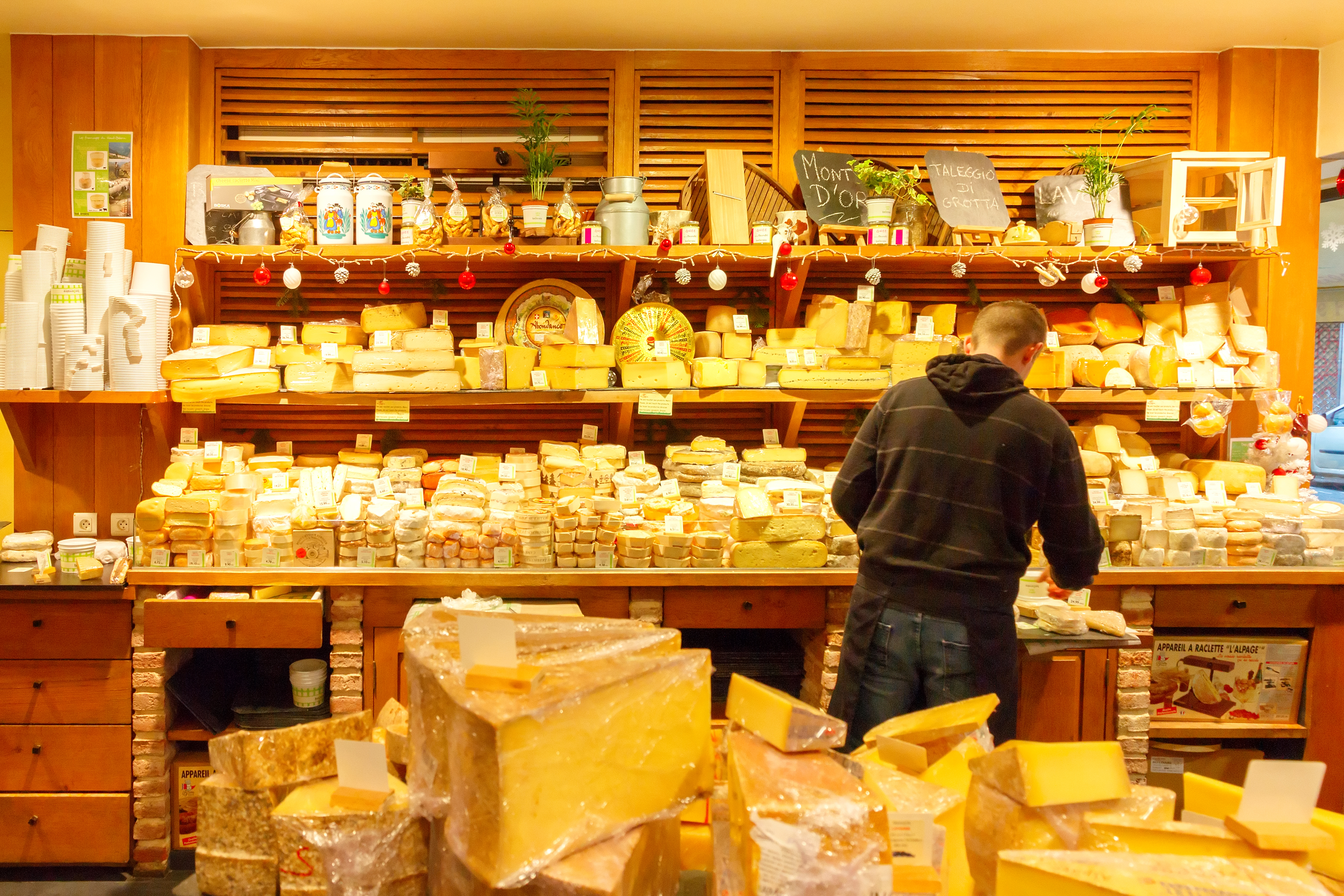 Popular French Cheeses