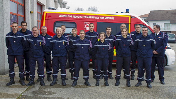 French Firefighters from Montalieu-Vercieu