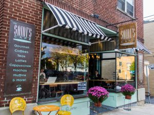 "Saint's ""French"" Café in State College, PA - Picture from OnwardState.com"
