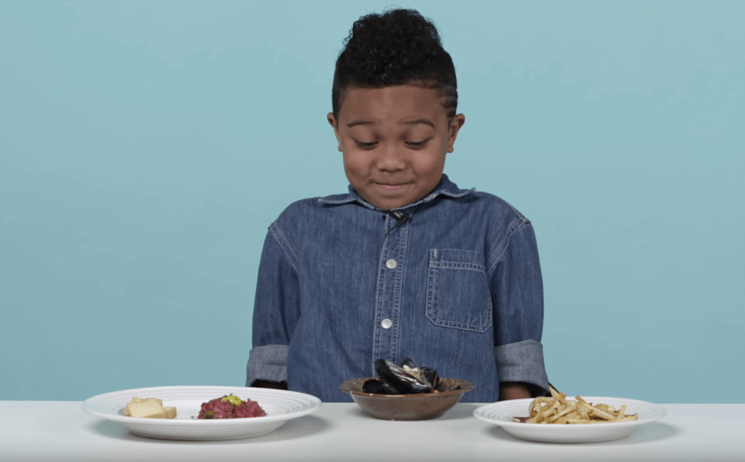 "American Kids try ""French Food"""