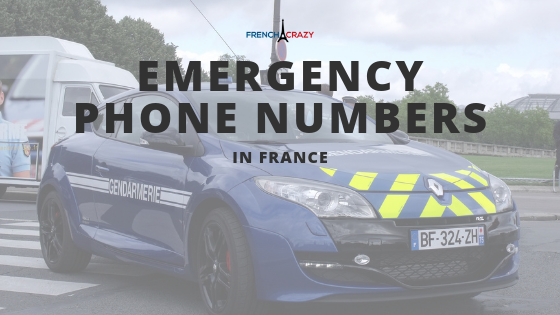 Emergency Phone Numbers in France